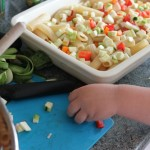vegetable pasta bake 1