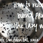 How to Rescue a Burnt Pan