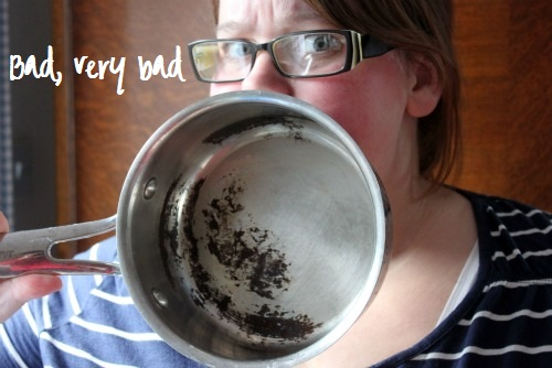 How To Clean A Very Burnt Stainless Steel Pot