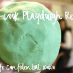 Easy Five Minute Playdough Recipe