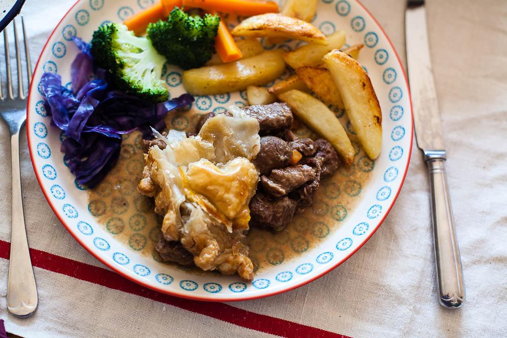 oxtail steak kidney pie recipe-5