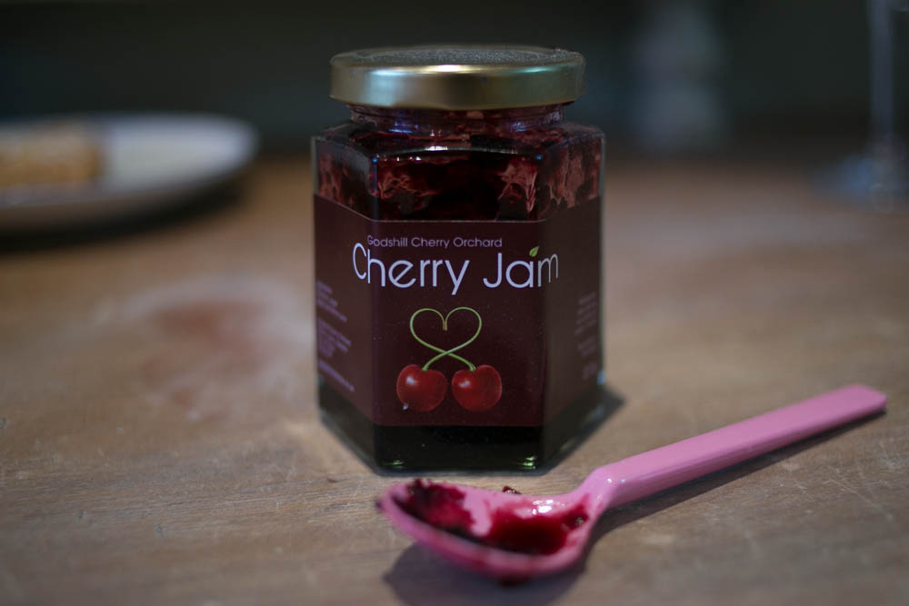 Cherry Jam from Godshill Cherry Orchard