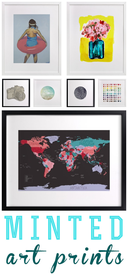 Minted Limited Edition Art Prints as seen on Housewife Confidential