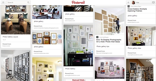 Photo Gallery Pinboard