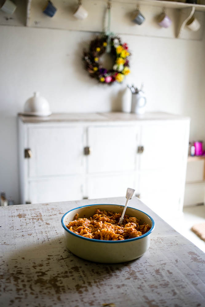 Roasted Pepper and Orzo Salad by Housewife Confidential-3