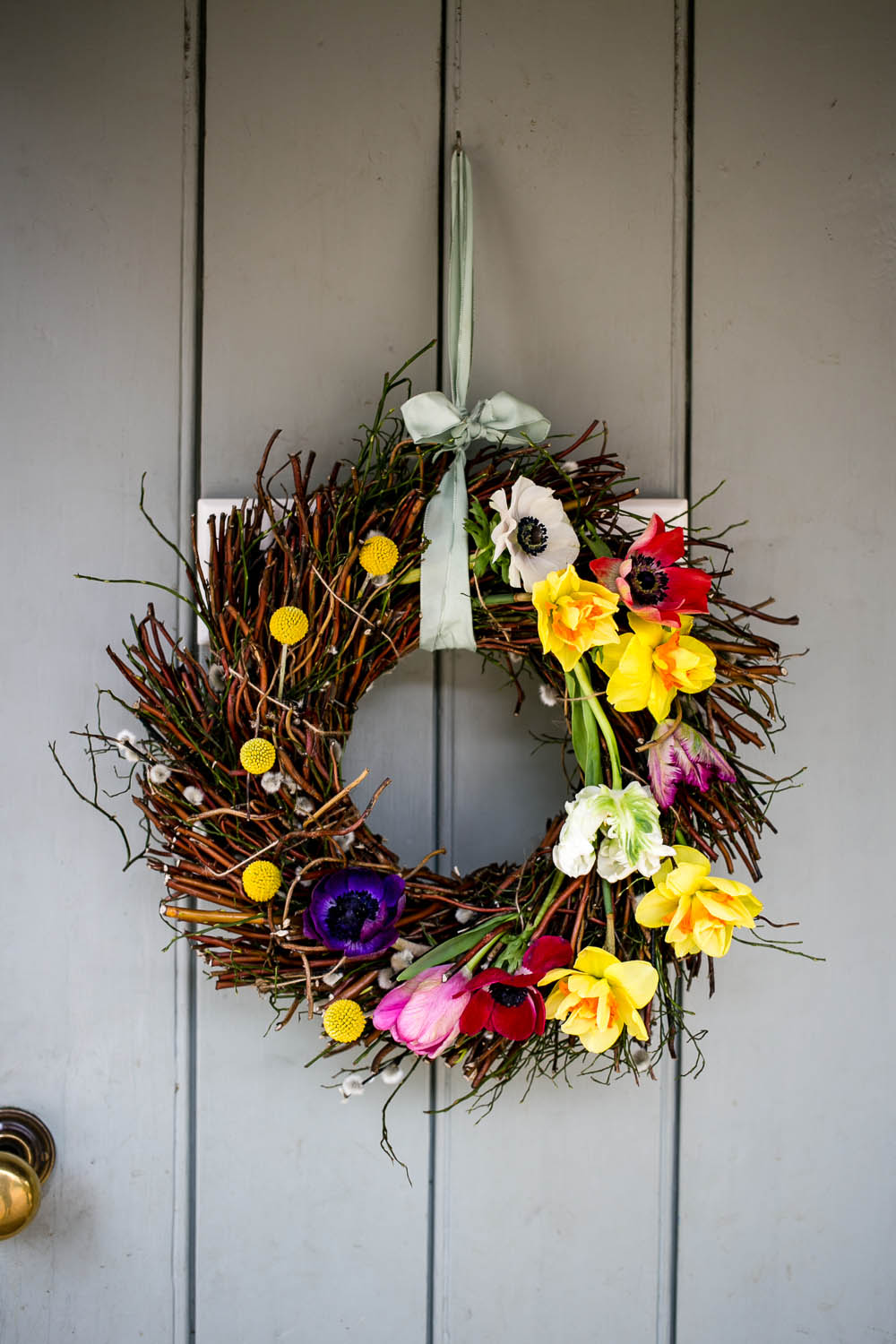 Spring Door Wreath by Housewife Confidential-7