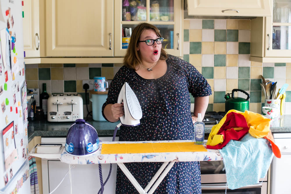 Steaming Through the Ironing with Housewife Confidential