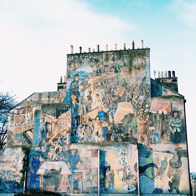 Industry of Leith Mural by Tim Chalk ?