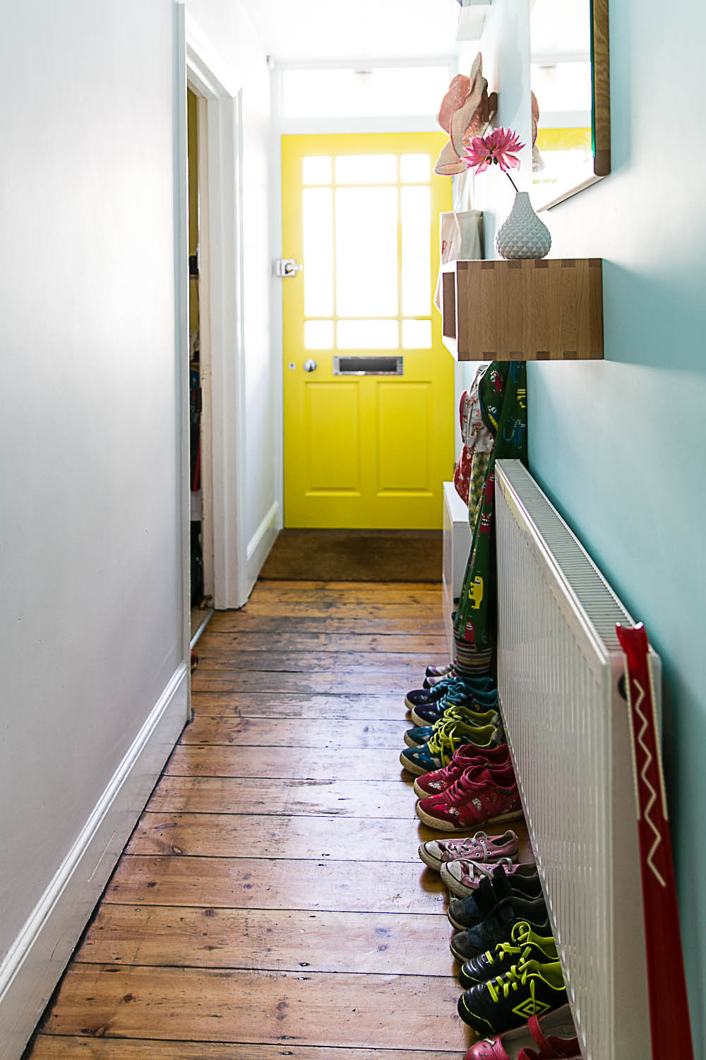Hallway Makesover with B&Q and Valspar at Housewife Confidential-5