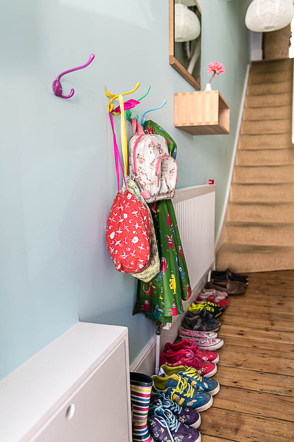 Hallway Makesover with B&Q and Valspar at Housewife Confidential