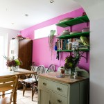 Pink Kitchen Makeover