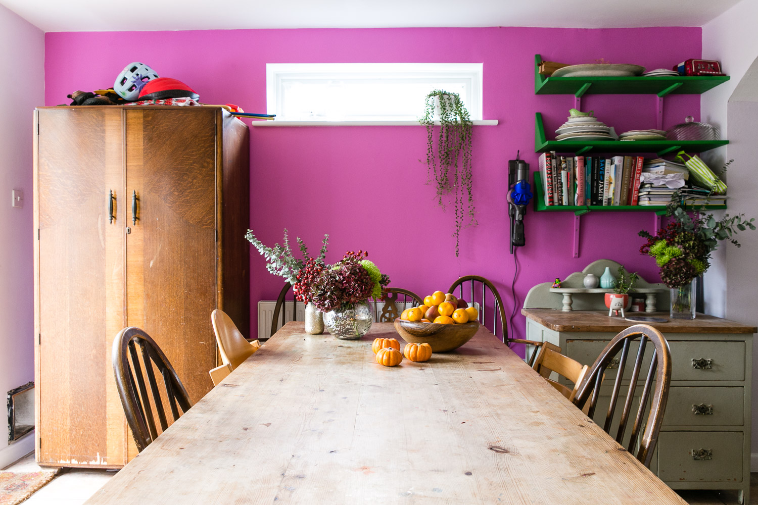 Housewife Confidential Pink Kitchen Makeover with B&Q and Valspar