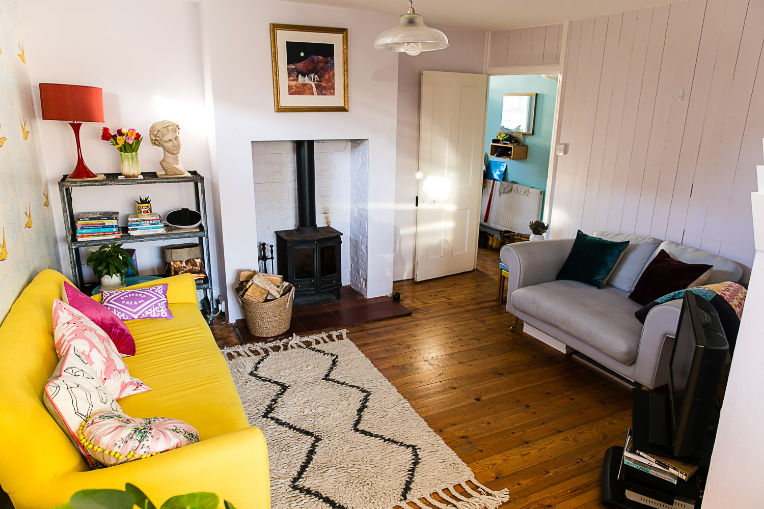 Housewife Confidential Sitting Room Makeover Reveal
