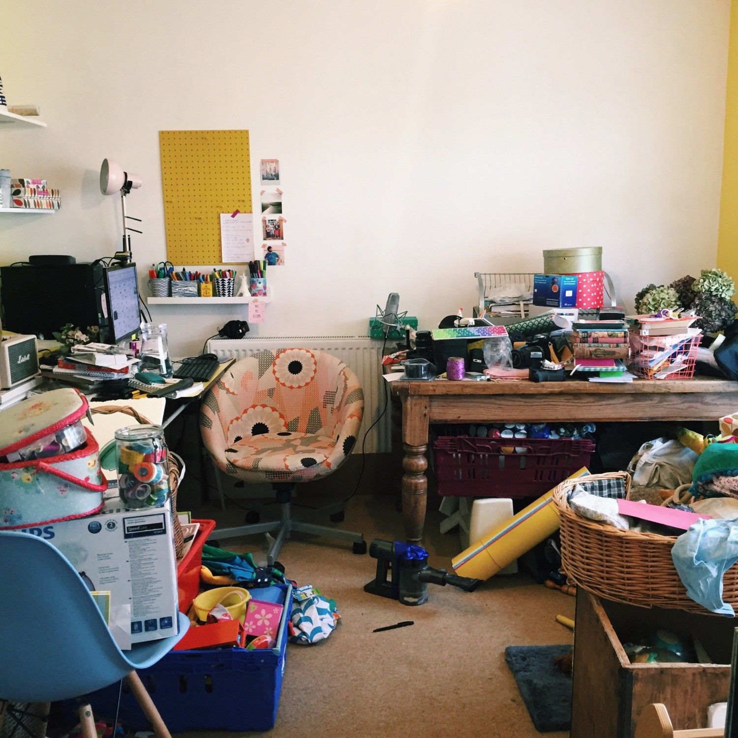 The Messiest Room in The World
