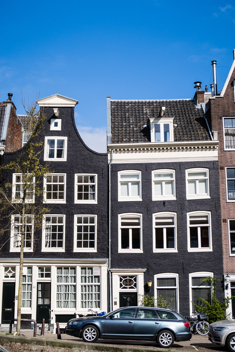 Canal Houses in Amsterdam © Kat Molesworth Photography