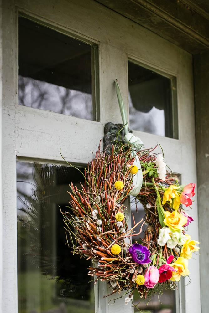 Spring Door Wreath by Housewife Confidential-2-4